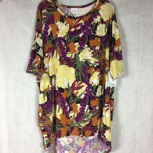 Lularoe Irma high low shirt sz 2xl